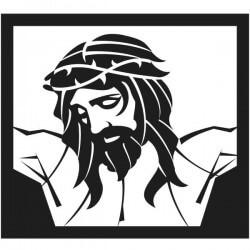 Vinilo cuadro Jesucristo