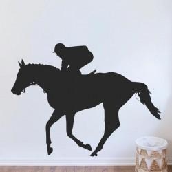 Adhesivo decorativo caballo