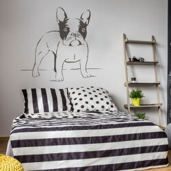Vinilo decorativo bulldog...
