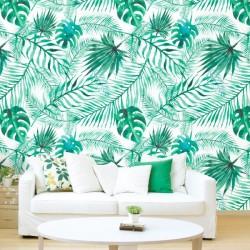 Fotomural textura tropical