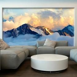 Mural decorativo paisaje de montaña