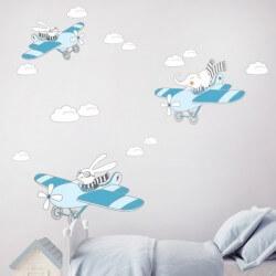 Vinilo de aviones infantiles