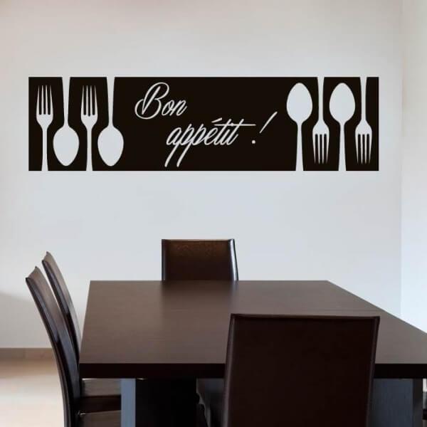 Vinilo bon appetit adhesivos de pared - Disenos de vinilos ...