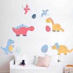 Vinilo infantil de dinosaurios