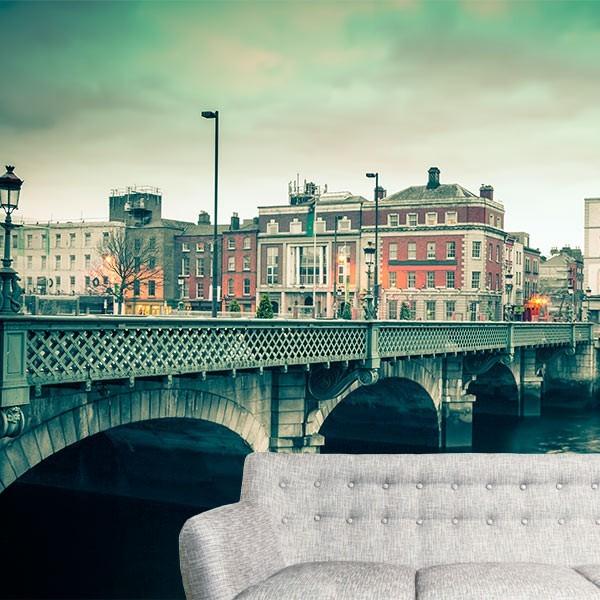 Fotomural ciudad de Dublín