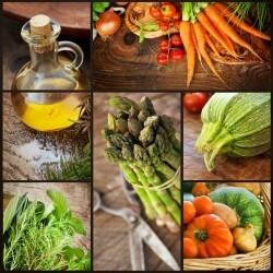 Vinilo decorativo de verduras