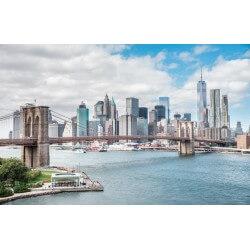 Mural panorámico de Nueva York