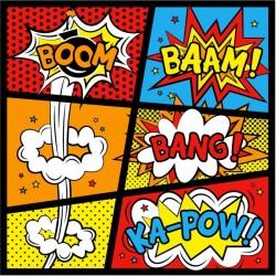 Vinilo pop art boom-bang