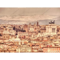 Fotomural panorámica de Roma