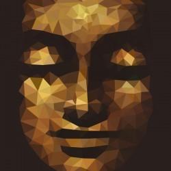 Fotomural cara del Buda