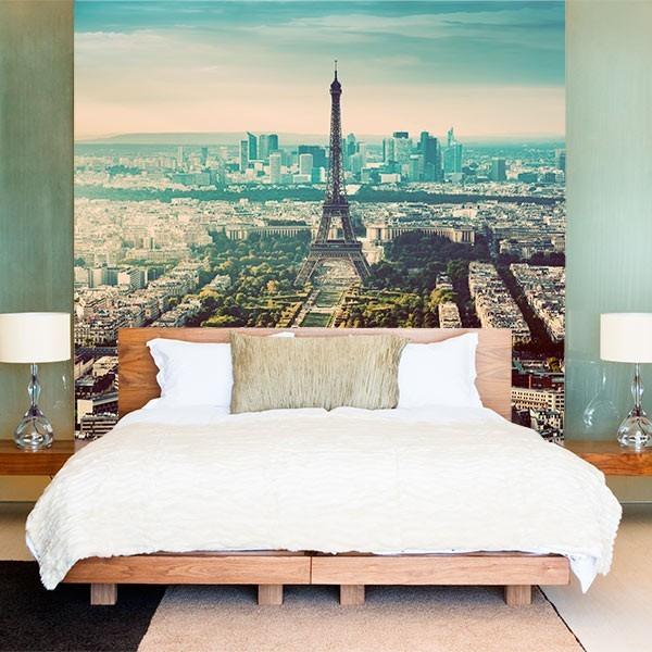 Mural de pared panorámica de París
