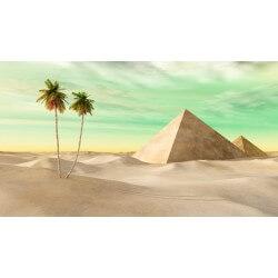 Fotomural pirámides del desierto