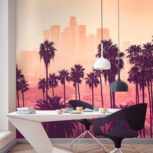 Mural en vinilo Los Angeles