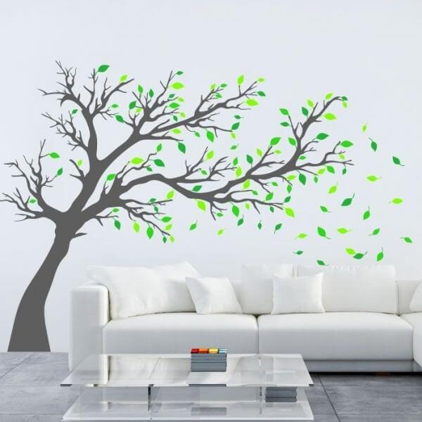 Vinilo de pared rbol adhesivos decorativos - Vinilos de arboles ...