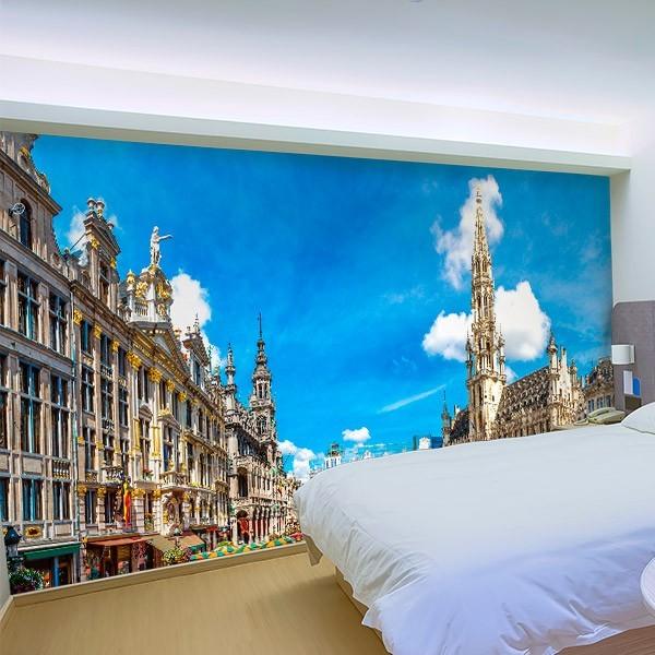 Fotomural Grand Place de Bruselas