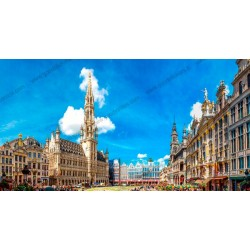 Fotomural Grand Place de Bruselas