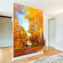 Mural de pared árboles en...