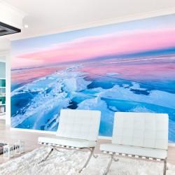 Mural en vinilo hielo agrietado