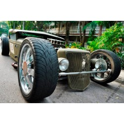 Fotomural coche hot rod