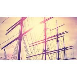 Fotomural mástil del barco