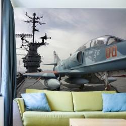 Mural en vinilo portaaviones