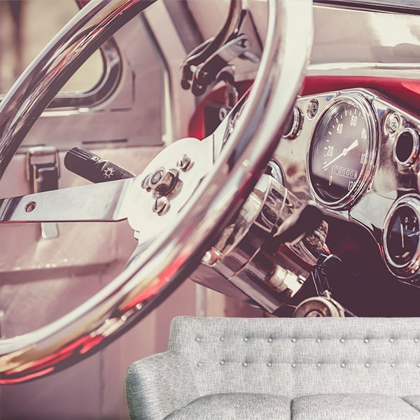 Fotomural coche vintage