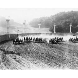 Fotomural carrera de caballos