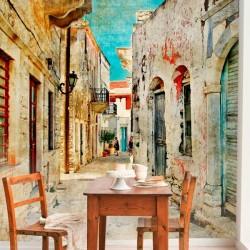 Fotomural calles de Grecia