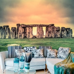 Mural de pared stonehenge