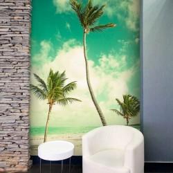 Fotomural playa exótica