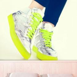 Fotomural tenis fluorescentes