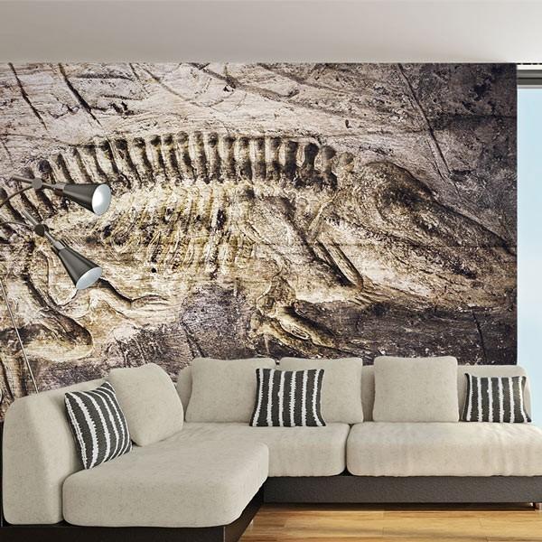 Fotomural fósil de dinosaurio