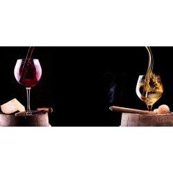 Fotomural vino y cigarro