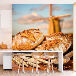 Mural de pared pan