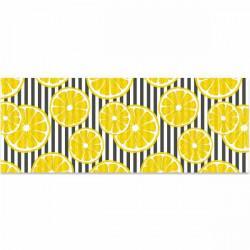 Alfombra vinílica limones