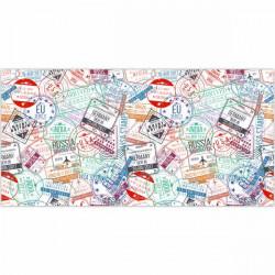 Alfombra vinilo sellos de Países