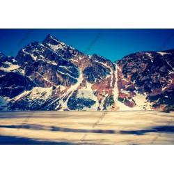 Fotomural montaña blanca