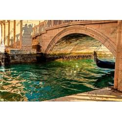 Mural en vinilo puente