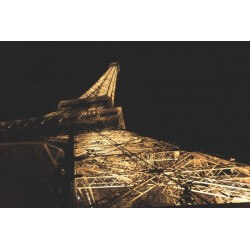 Fotomural debajo de la torre Eiffel