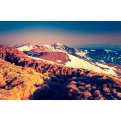 Fotomural montes con nieve