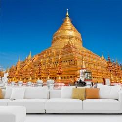Fotomural Pagoda Shwedagon