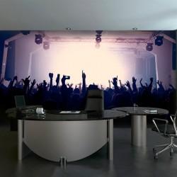 Fotomural concierto de rock