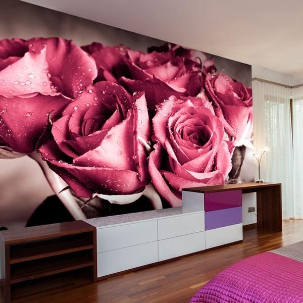 Fotomural ramo de rosas