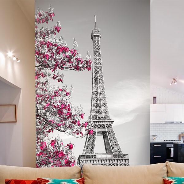 Mural decorativo torre Eiffel