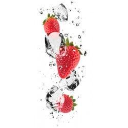 Vinilo decorativo fresas 2