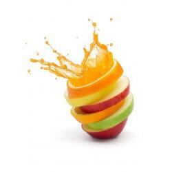 Vinilo de cocina mezcla de frutas