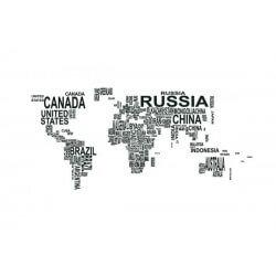 Fotomural mapa mundo