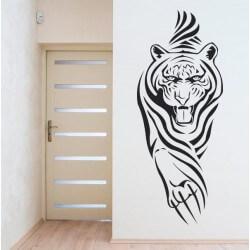 Vinilo adhesivo tigre