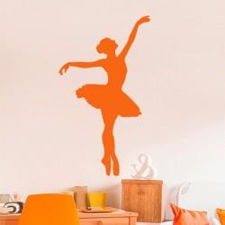 Adhesivo danzando ballet