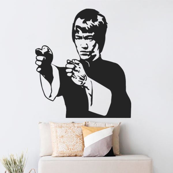Adhesivo de pared Bruce Lee